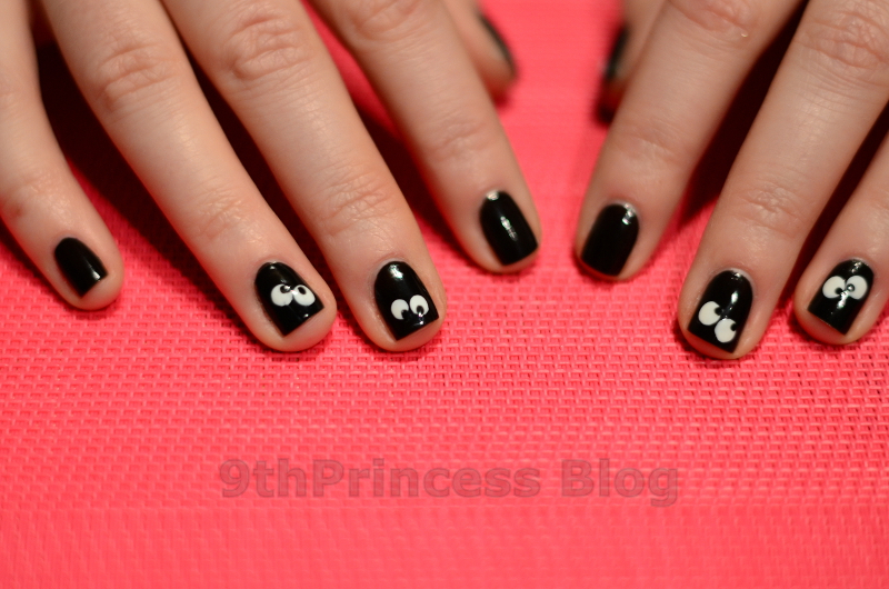 Who turned off the light? nail art by 9th Princess