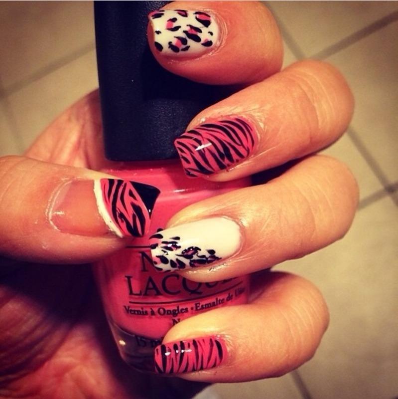 All animal nail art by Jeannie_Thai