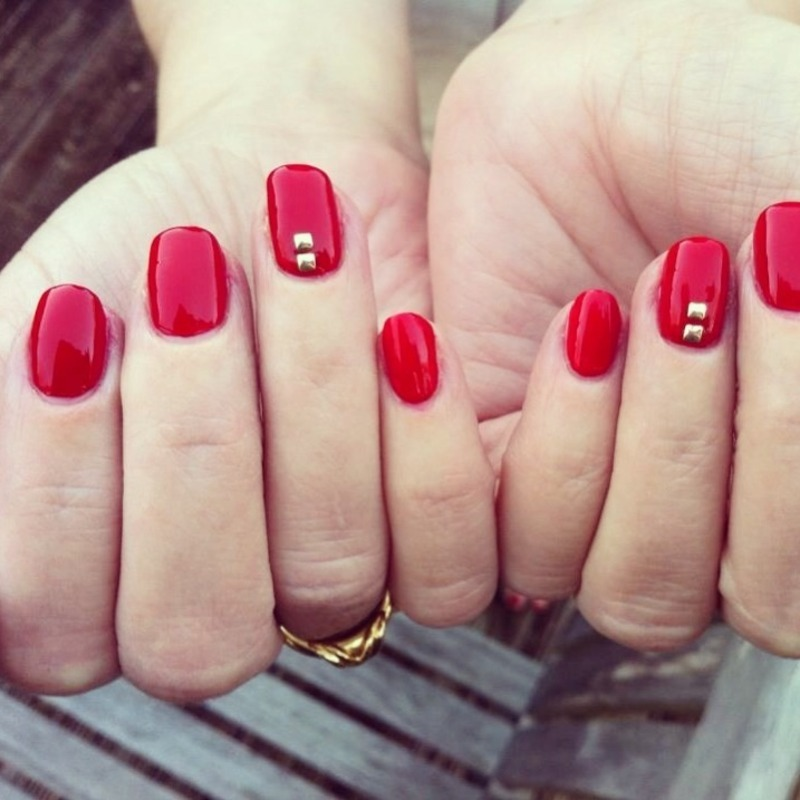 Oscar Party Appropriate  nail art by Skye