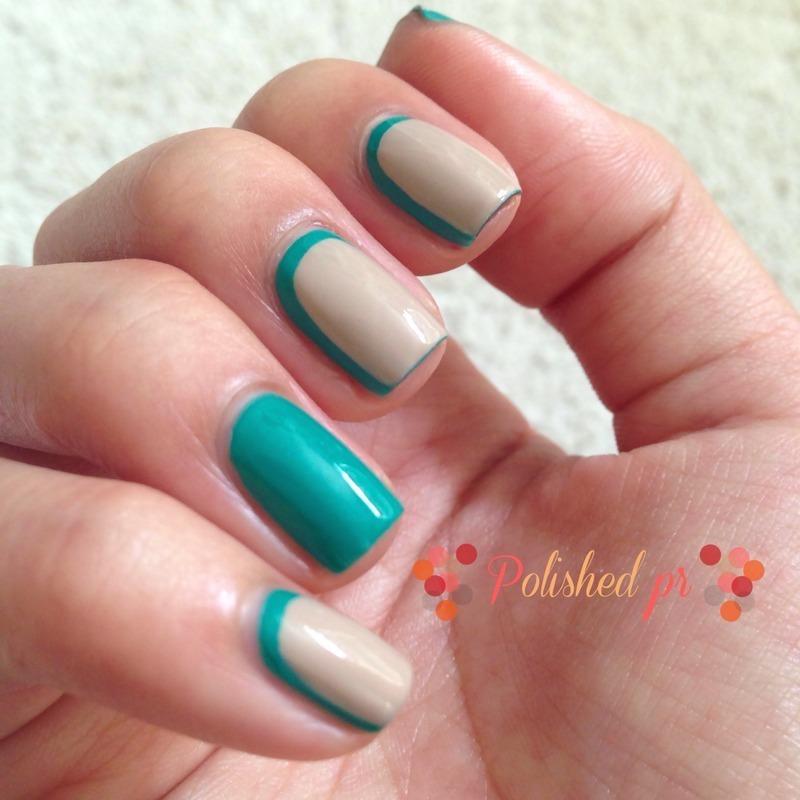 Workplace Mani: Extreme Ruffian nail art by Jenn Thai