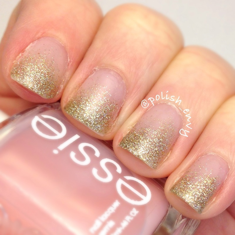 Nude Glitter Gradient Nail Art By Nicole Nailpolis Museum Of