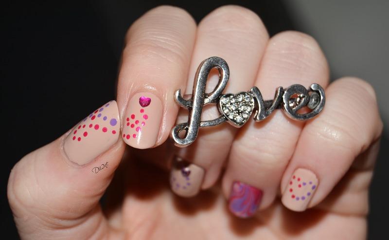 Valentine's Day By Dii2ne nail art by Dii2ne