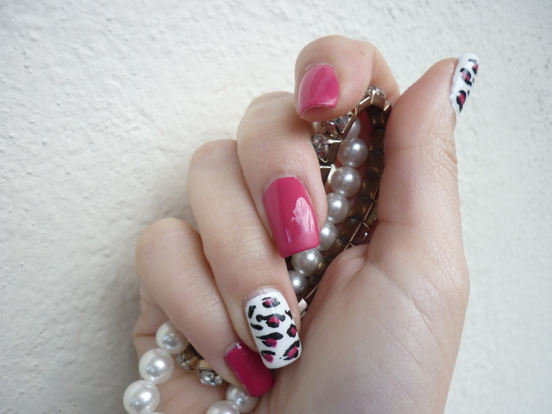 Nail art leopardata nail art by Rachele