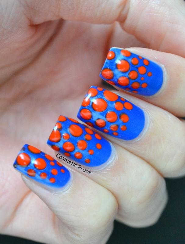 Alien Dotticure nail art by Jayne
