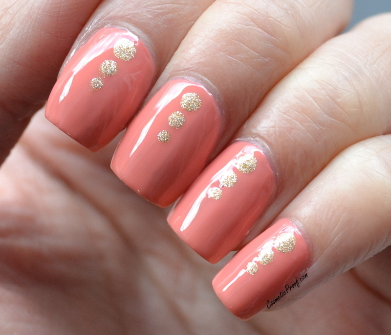Sweet and Simple nail art by Jayne