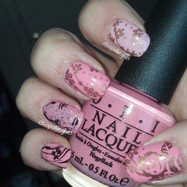 pink lady nail art by opal rodabaugh