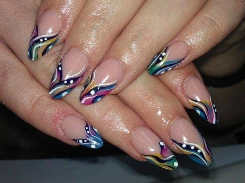 colorlicious paint nail art by Marija  Janeva