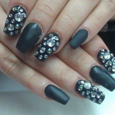 Matte  nail art by Marija  Janeva