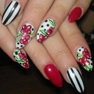 spring fashion nail art by Marija  Janeva