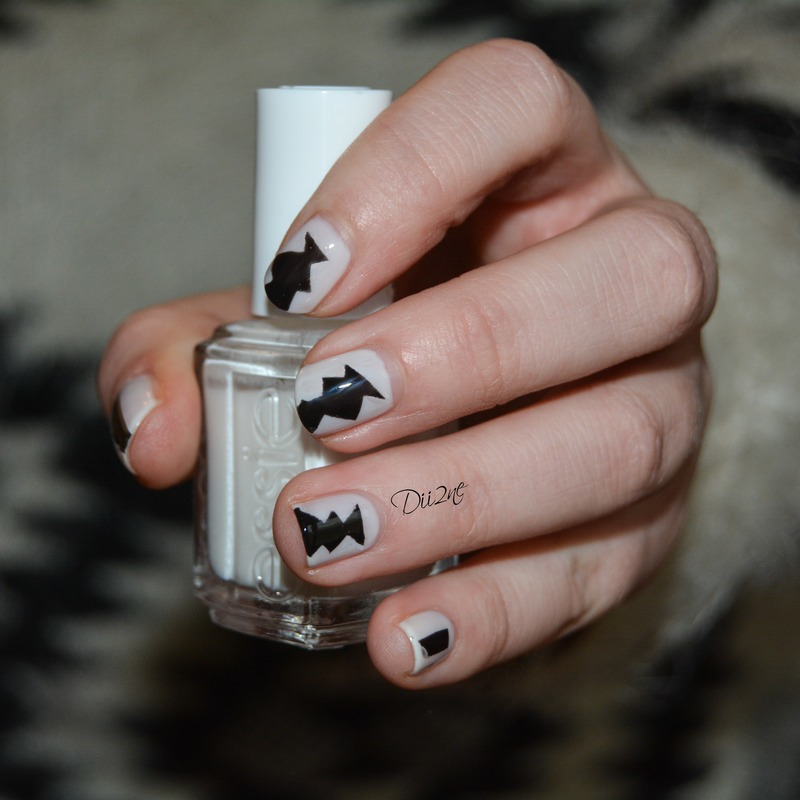 Inspiration Pull nail art by Dii2ne