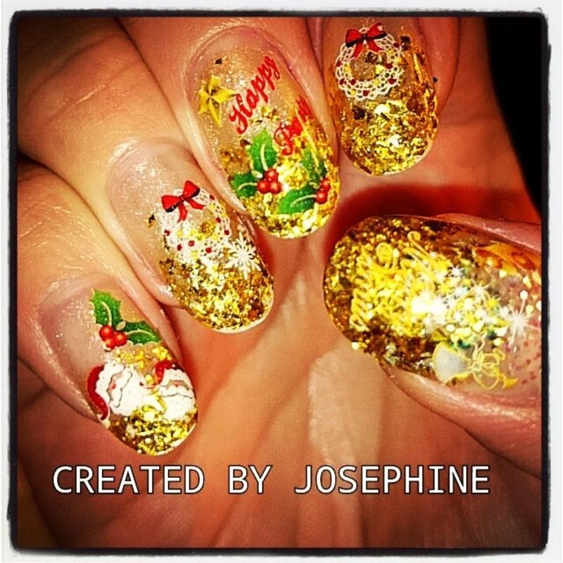 JOSEPHINE FONG nail art by Josephine FONG
