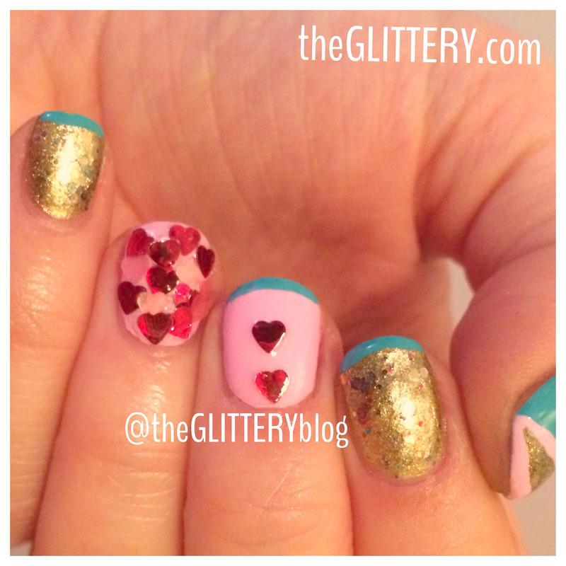 Valentine's Day Heart Attack!  nail art by Ari  Fund