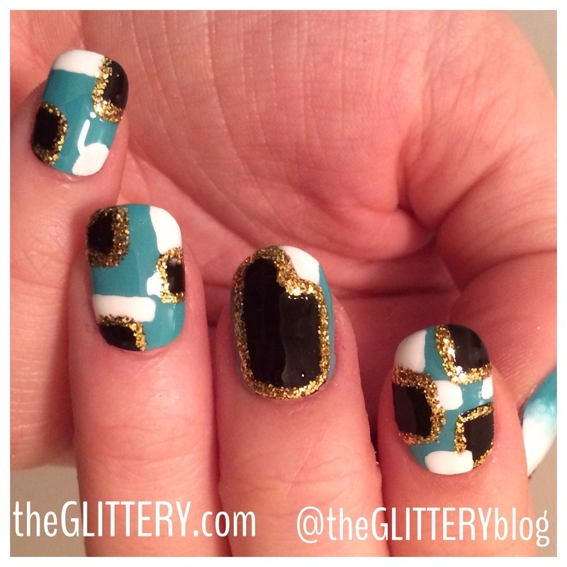 Glitterati nails!  nail art by Ari  Fund