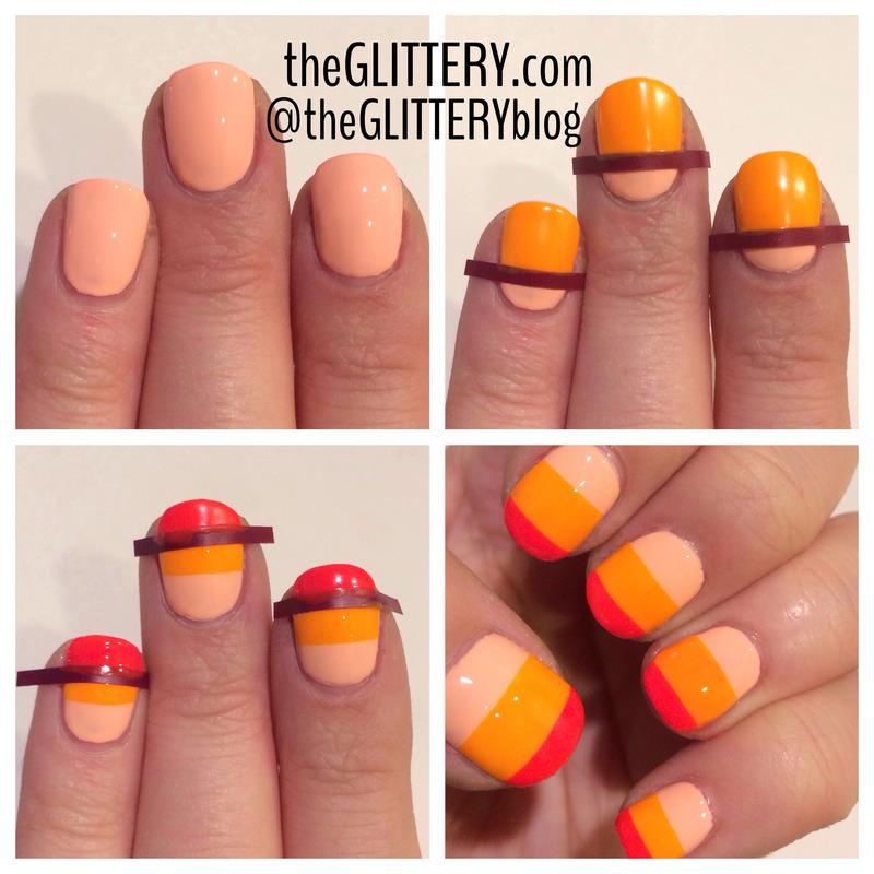 Floss Gloss Gradient Tutorial! nail art by Ari  Fund