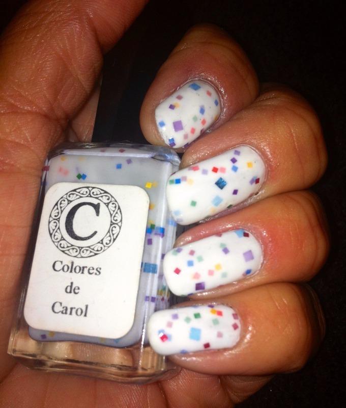 Colores De Carol April Fools Swatch by Genevieve  Clay-Poor