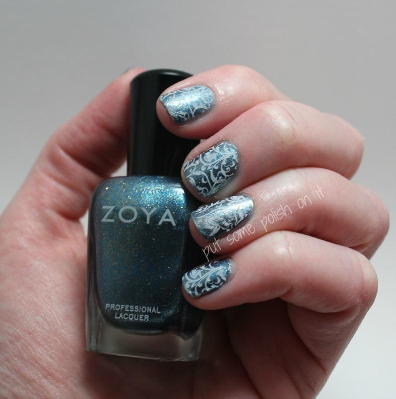 drape nails nail art by Crystal