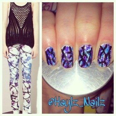 Fashion Fingers nail art by Hayley
