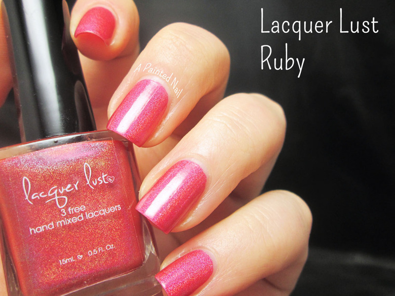 Lacquer Lust Ruby Swatch by Bridget Reynolds