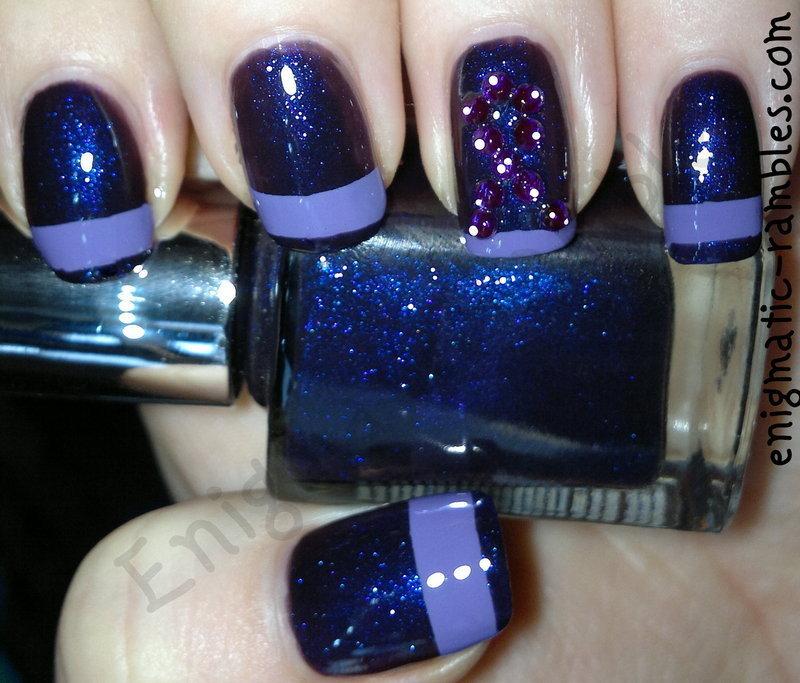 Eating Disorder Awareness Week Nails nail art by Enigmatic Rambles ...