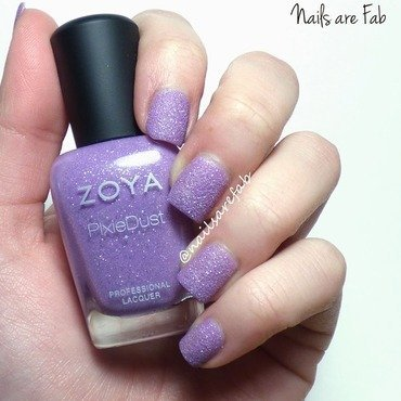 Zoya stevie Swatch by Leah Michalewicz