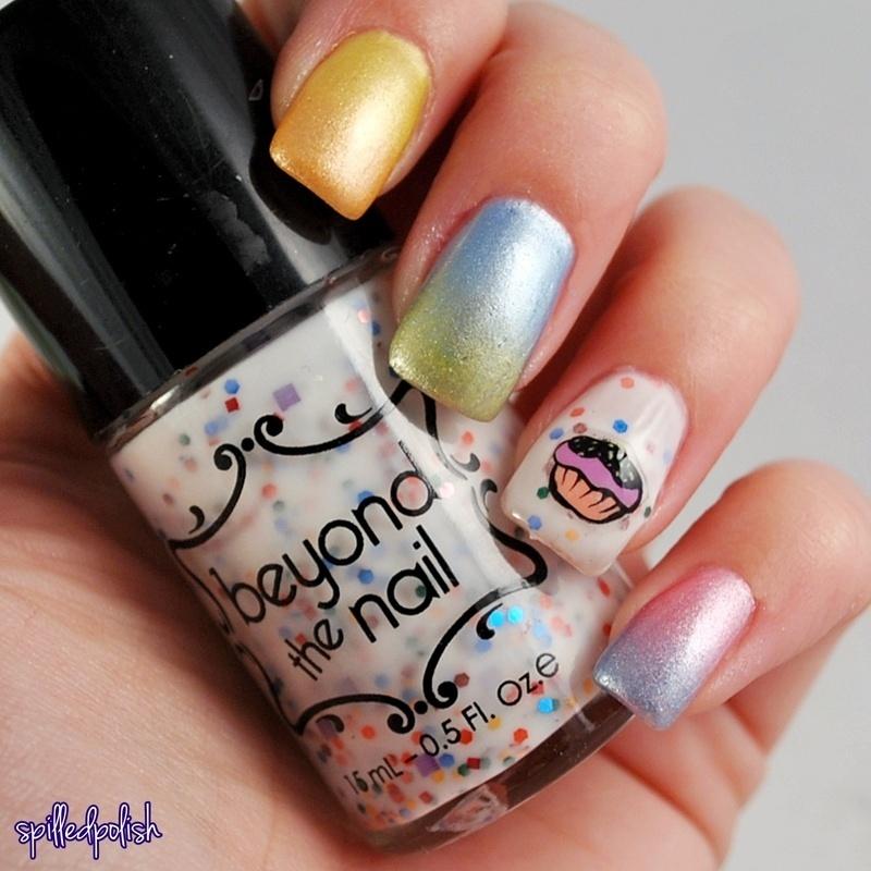 Birthday Celebration nail art by Maddy S