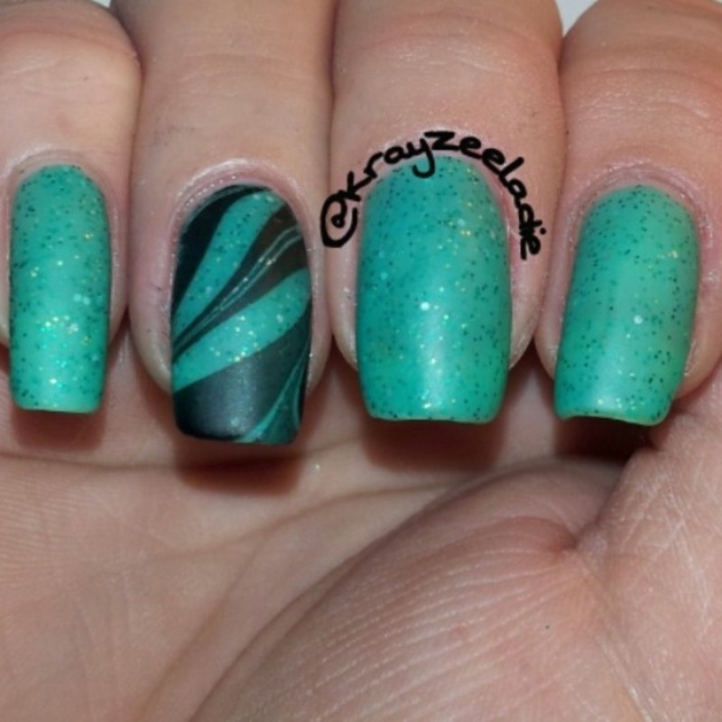 Cascade Polish In Luck Swatch by Amy