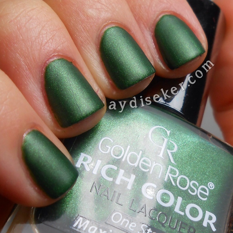 Golden Rose Rich Color 110 Swatch by Aydi Seker