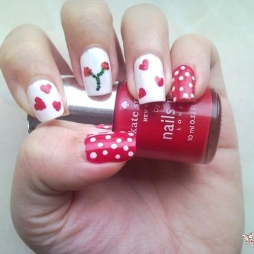 Nails Inc Big Apple Red Swatch by Rita Mirabela