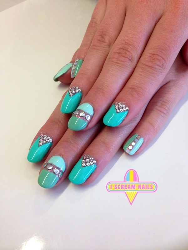 Divine nail art by I Scream Nails