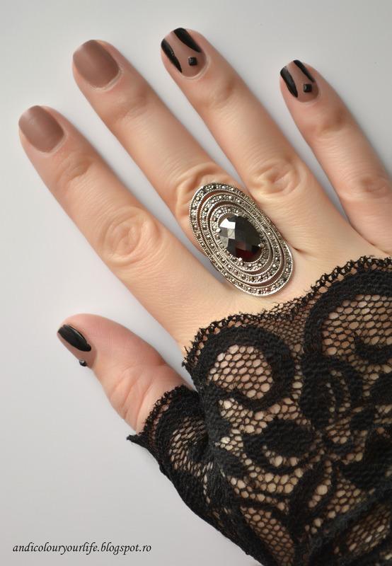 Simple nail design nail art by Andrea  Manases