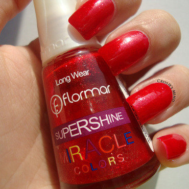 Flormar Nail Enamel Supershine Miracle Colors U14 Swatch by Christina