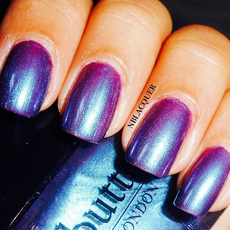 Butter London Petrol Swatch by Monica S.