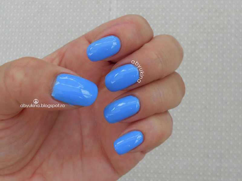 Barry M Blueberry Swatch by Aby