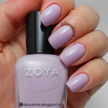 Zoya Heather Swatch by Aby