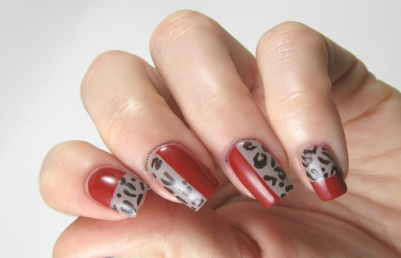 Fab Your Leopard nail art by Jennifer Starnes