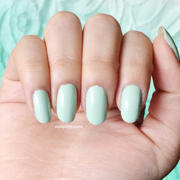 Sally Hansen Mint Sorbet Swatch by Michelle