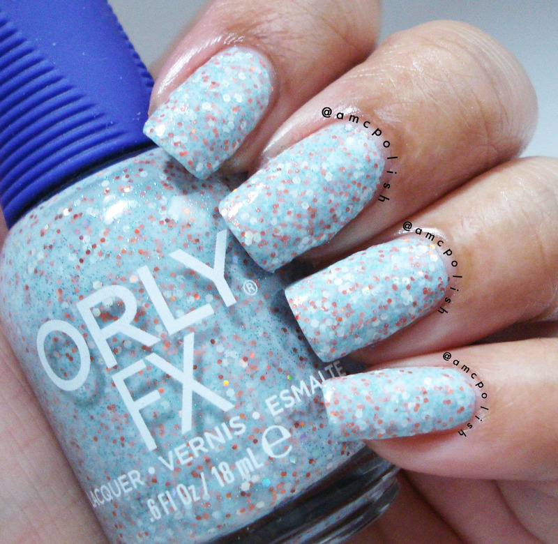 Orly Milky Way Swatch by Amber Connor