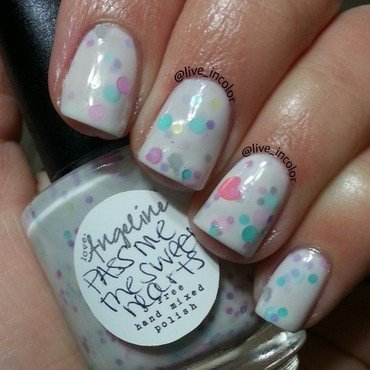 loveangeline pass me the sweet hearts Swatch by kEElyN mARiN