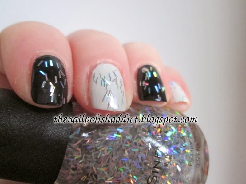 SinfulColors Silver Rainbows Swatch by Leah
