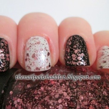 SinfulColors Glittery In Pink Swatch by Leah