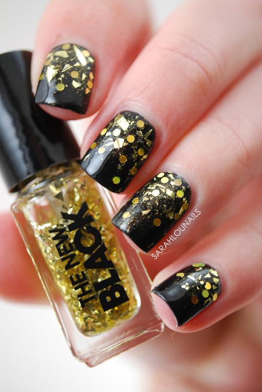 New Years Nails! nail art by Sarah S