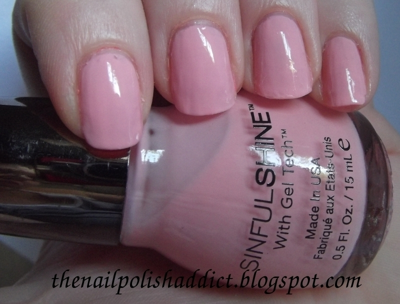 SinfulColors Sailor's Delight Swatch by Leah