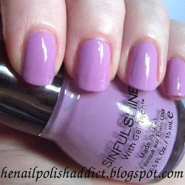 SinfulColors Spitfire Swatch by Leah