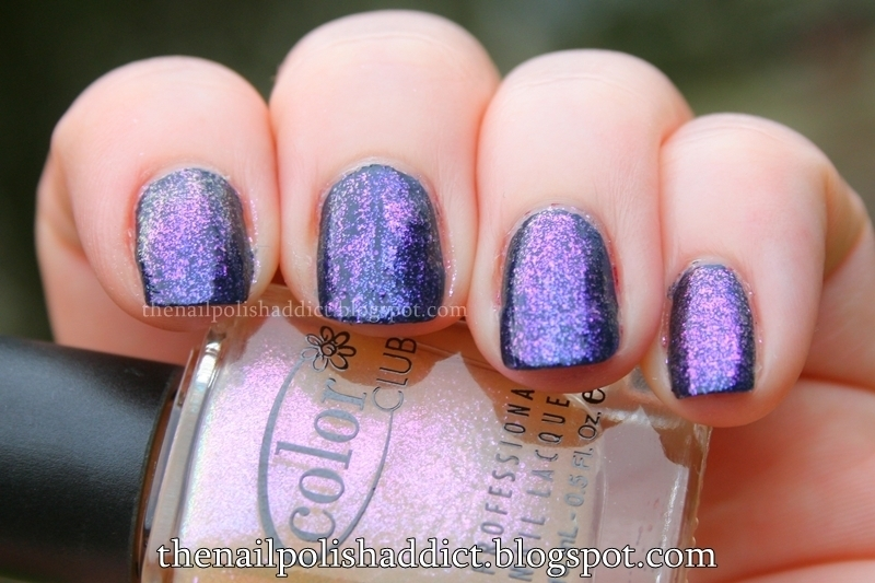 Color Club Pearl-spective Swatch by Leah
