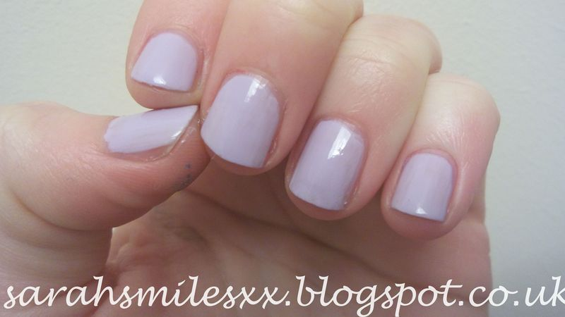 Models Own Lilac Sheen Swatch by Sarah Clarke