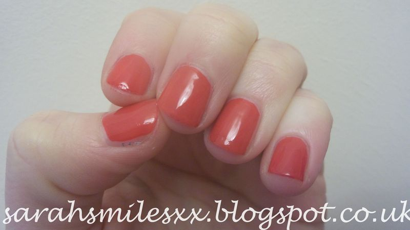 Models Own Red Lustre Swatch by Sarah Clarke