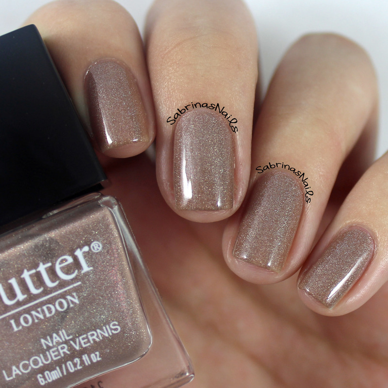 Butter London All Hail The Queen Swatch by Sabrina