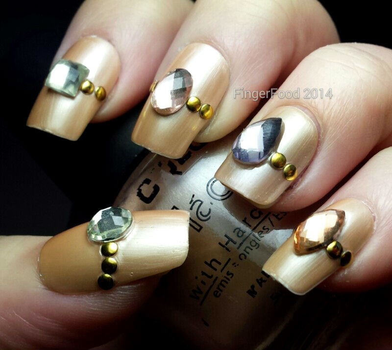 Lacquer Legion - Adoration nail art by Sam