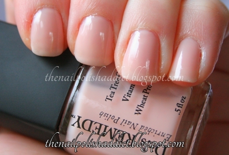 Dr.'s Remedy Purity Pink Swatch by Leah