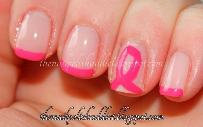 BCA French nail art by Leah